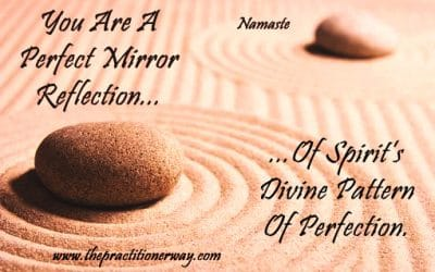 You are a perfect mirror reflection…